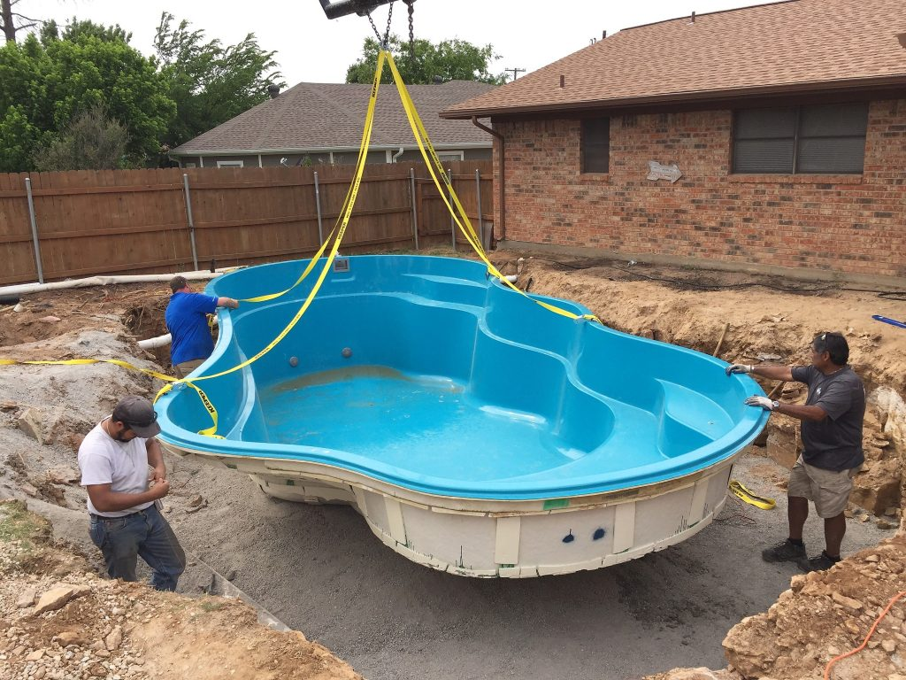 How long does it take to install a Fiberglass Pool?