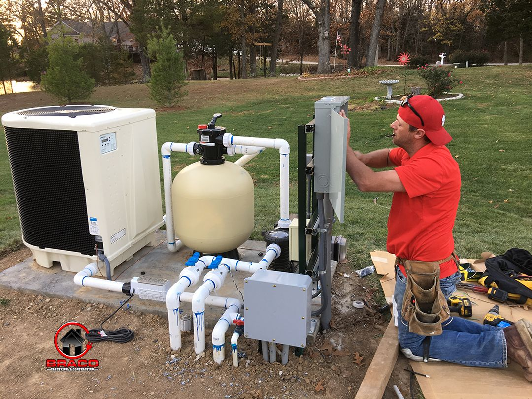 Pool Pump & Heater in Wright City, Missouri Wire up a new pool ...