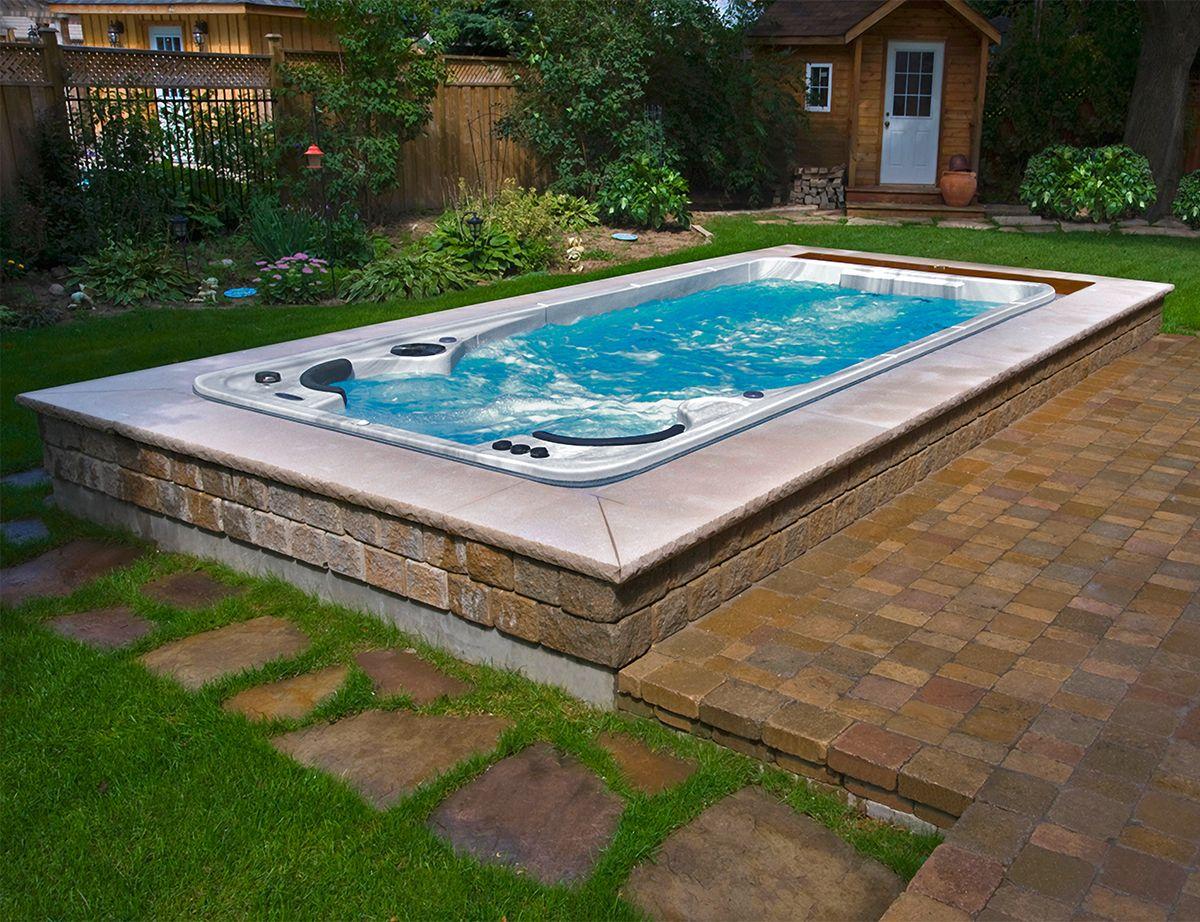 Swim Spas | Luxury swimming pools, Backyard pool landscaping ...