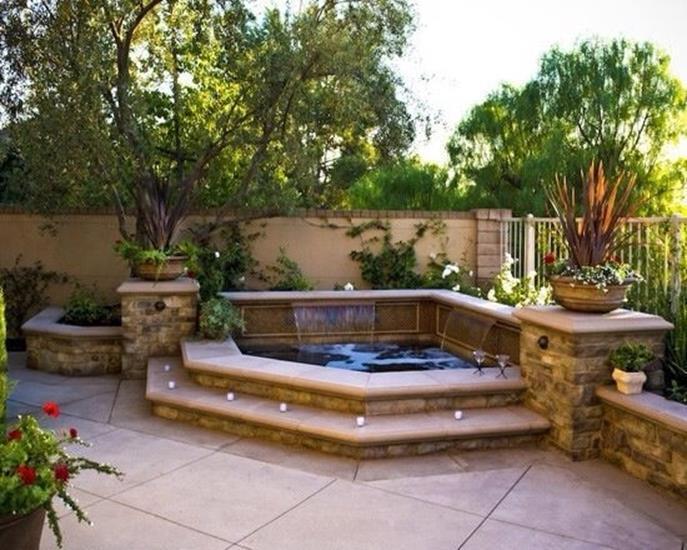 30 Incredible Hot Tub Suitable for Small Backyard - Decor Renewal