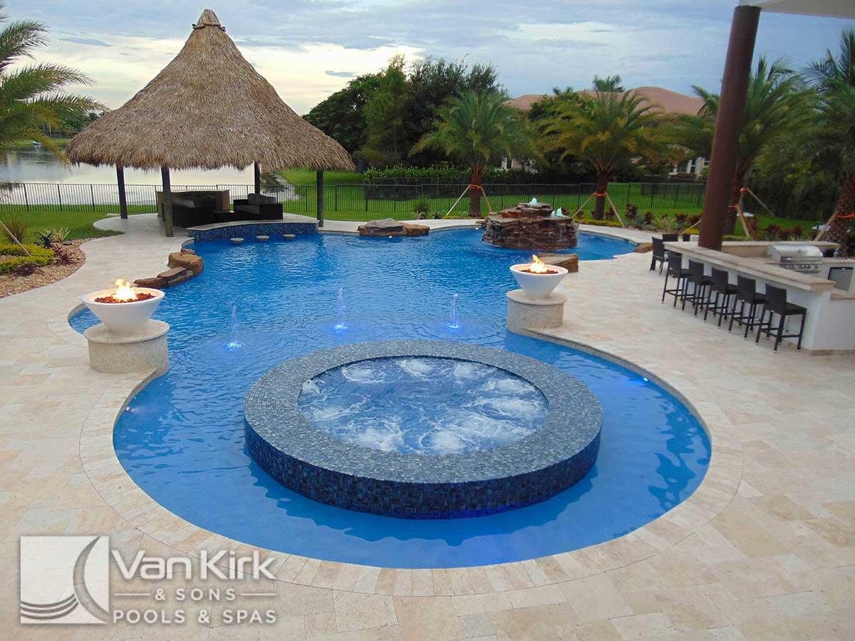 #10 Pool Contractor in America - Van Kirk & Sons Pools