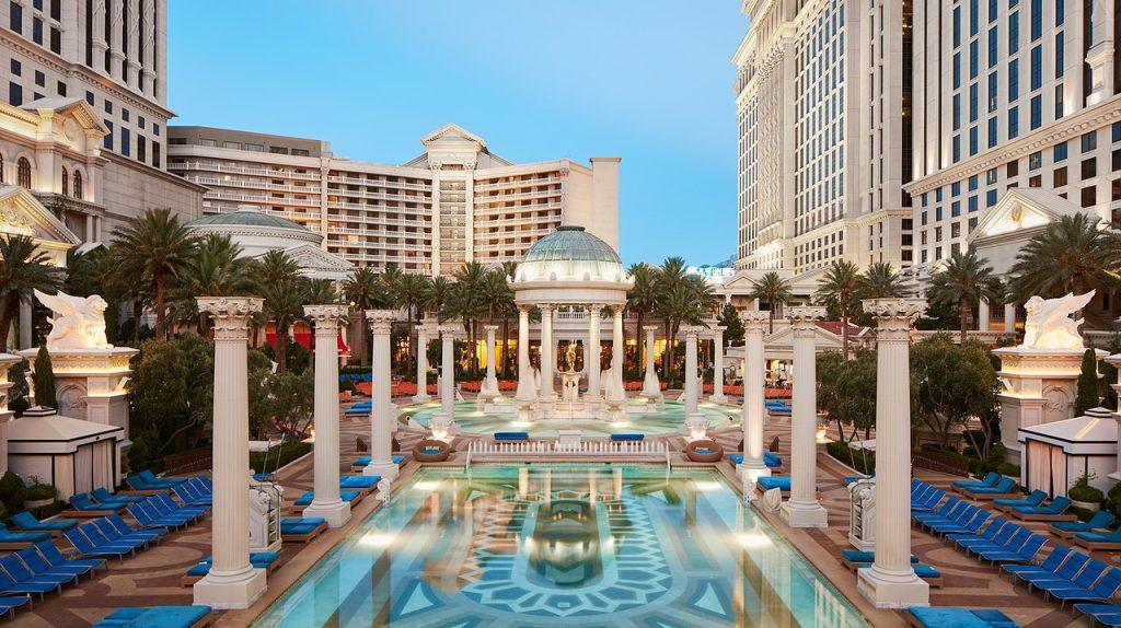 Best Commercial Pools - Cesars Palace - Las Vegas