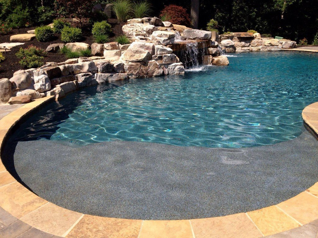 Benefits of having the gunite pool - Decorifusta