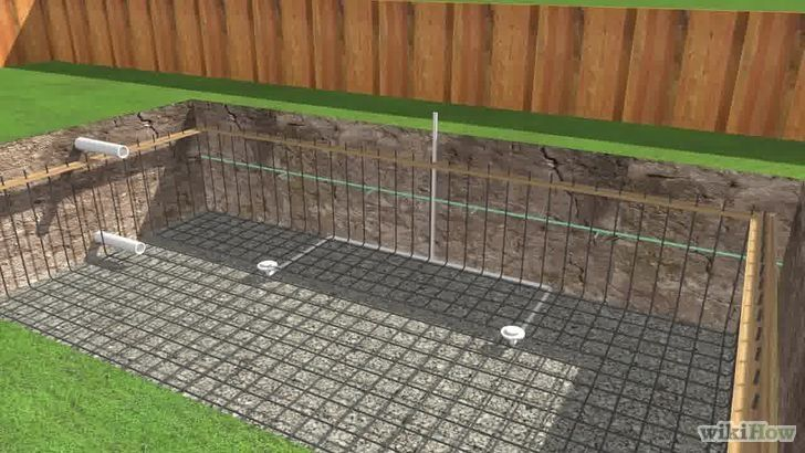 Perfect Rebar Job in an Inground Pool - Learn About Rebar for Pool Construction