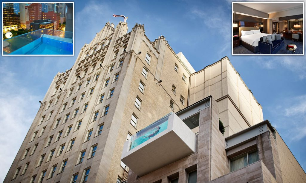 Best Commercial Pools - The Joule Hotel - Dallas
