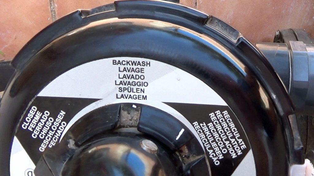 Make sure the multiport valve setting is on backwash