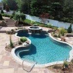 Gunite Inground Pool - a perfect example of the Gunite Pool