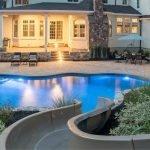 Gunite Pool With Slide