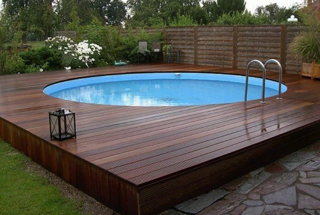 Above ground pool contractors