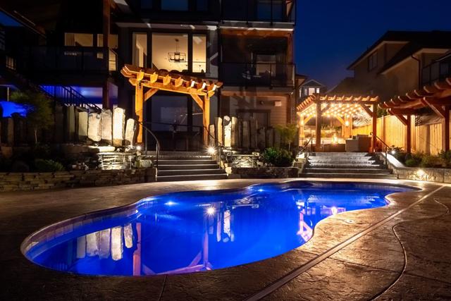 Can You Put Lights in a Fiberglass Pool?