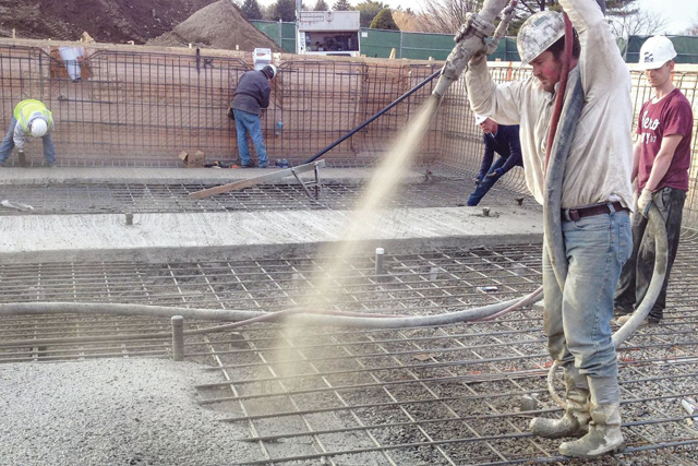 How Do You Build A Gunite Pool?