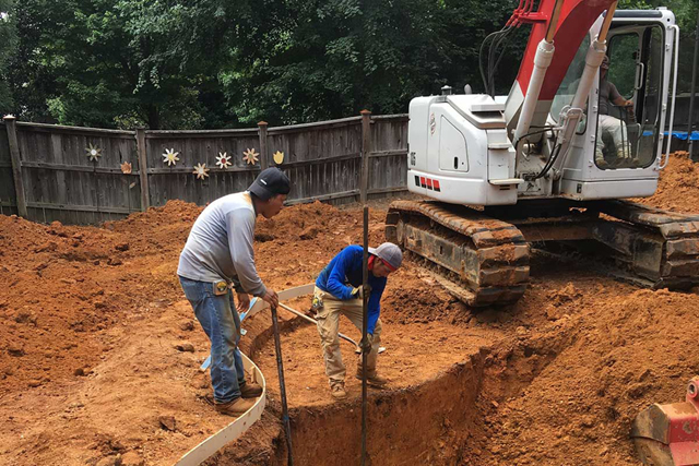 How Do You Excavate An Inground Pool?