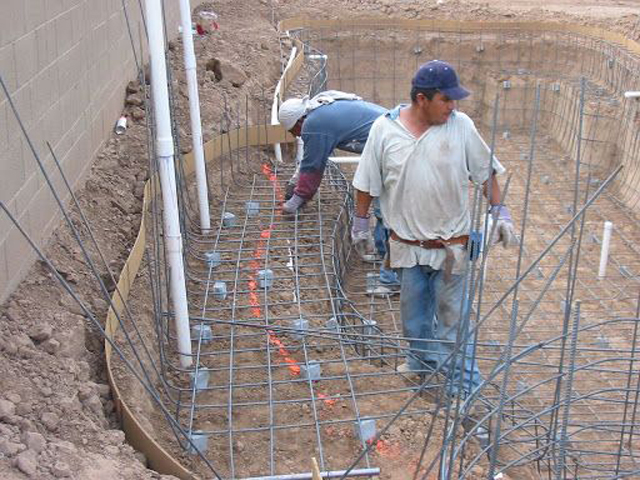 How Much Does It Cost To Rebar A Pool?