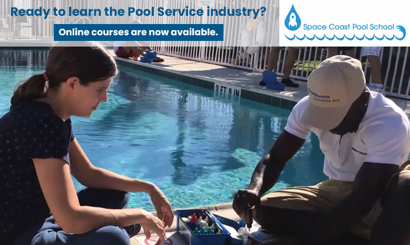 Ready to learn the pool service industry? Register for online certified pool operator courses now.