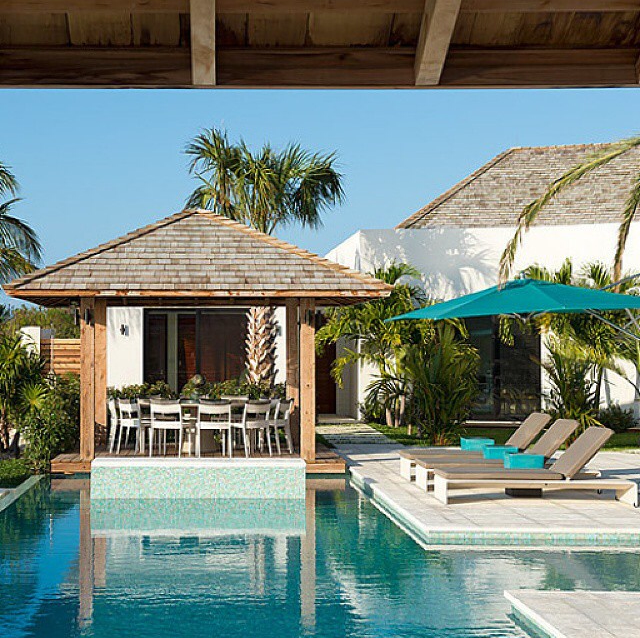 Pool House Ideas - Backyard Landscaping Ideas to Beautify Your Pool Area