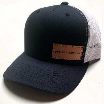 Pool Contractor Hat - Trucker Hat, Baseball Cap, Pool Builder Hat, Pool Service Hat, Pool Company Hat