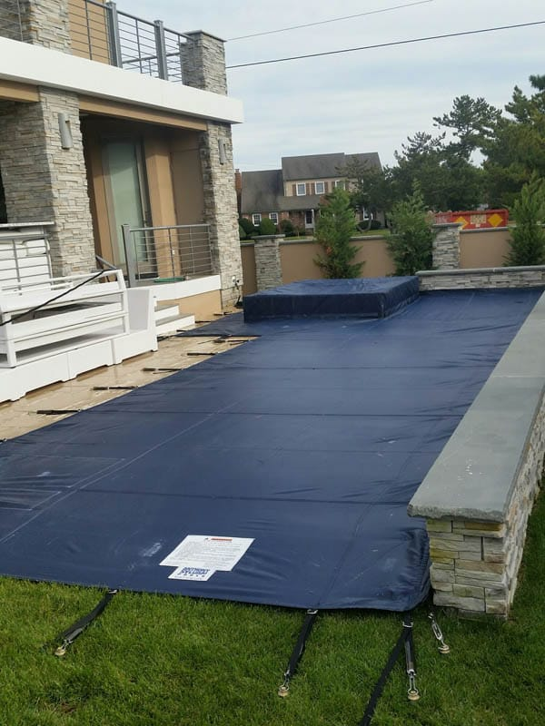 Winter Swimming Pool Safety Covers - Anchor Industries, Inc.
