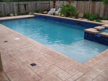 Concrete Pool Deck - Photo Credit: Concrete Network