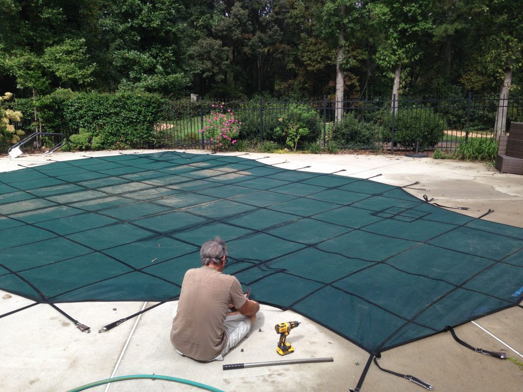 Pool Safety Cover Anchor Installation is easy following these helpful hints - Pool Cover Installation