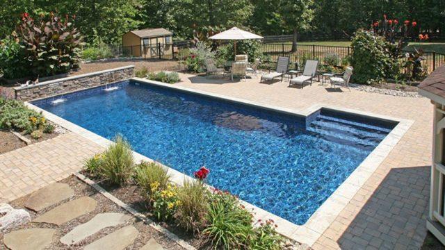 Philadelphia Vinyl Liner Pool Construction